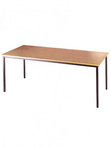 Dams Flexi-Table 800x800mm Rectangular with Graphite Frame FLXG8