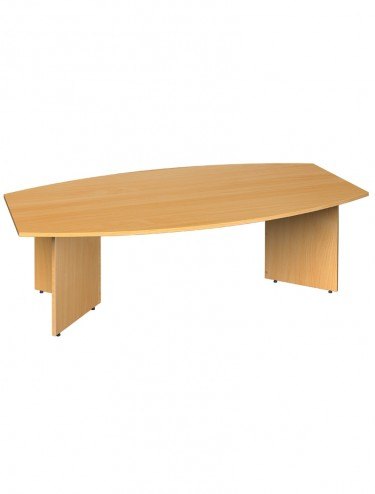 Boardroom Table - Radial 2400mm long ERB24