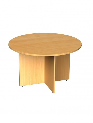 Boardroom Table - Circular Boardroom Table 1200mm wide RT12