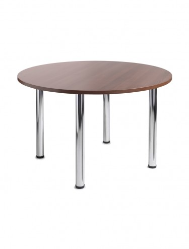 Turin 1200mm Circular Meeting/Leisure Tables CF12