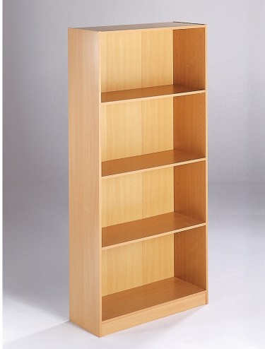 Dams Tall Economy Bookcase TBC - 1620mm Maestro Bookcase