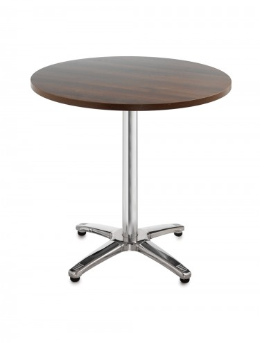 Bistro or Cafe round table R6BT - Roma Aluminium 600mm wide