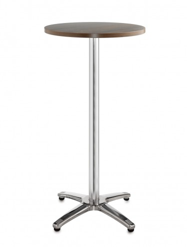 Bistro or Cafe tall round table R6PT - Roma Aluminium 600mm