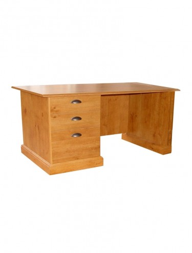French Gardens Office Desk Antique Pine 10420