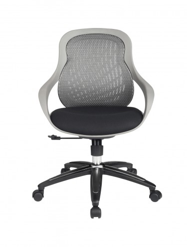 Mesh Office Chair Grey Croft Computer Chair AOC1010-M-GRY by Alphason
