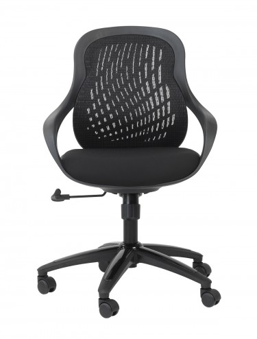 Alphason Croft Black Mesh Back Executive Chair AOC1010-M-BLK