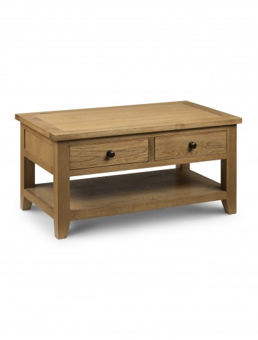 Julian Bowen Astoria Coffee Table (with 2 drawers) AST003