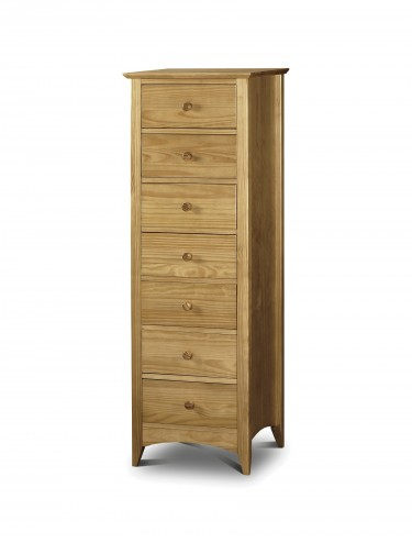 Julian Bowen Kendal 7 Drawer Narrow Chest KEN004