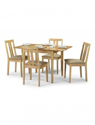 Julian Bowen Rufford 4 chair Dining Set