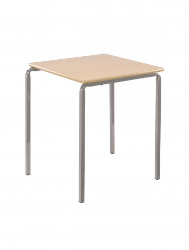 Square Stacking Table - 600x600mm Classroom Table CBSQ-66-MD
