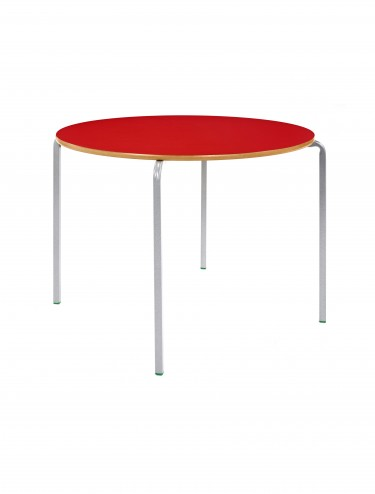 Classroom Circular Stacking Table - 1000mm Diameter Classroom Table CBSQ-10C-MD