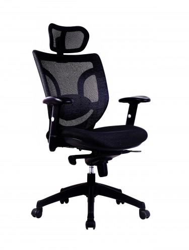 Newton Mesh High Back Executive Chair BCM/K103/BK