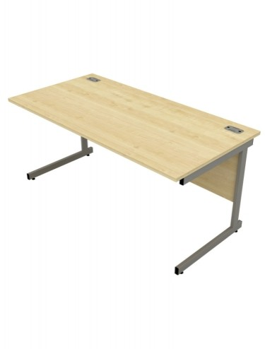 Bordeaux Straight Cantilever Desk - enlarged view