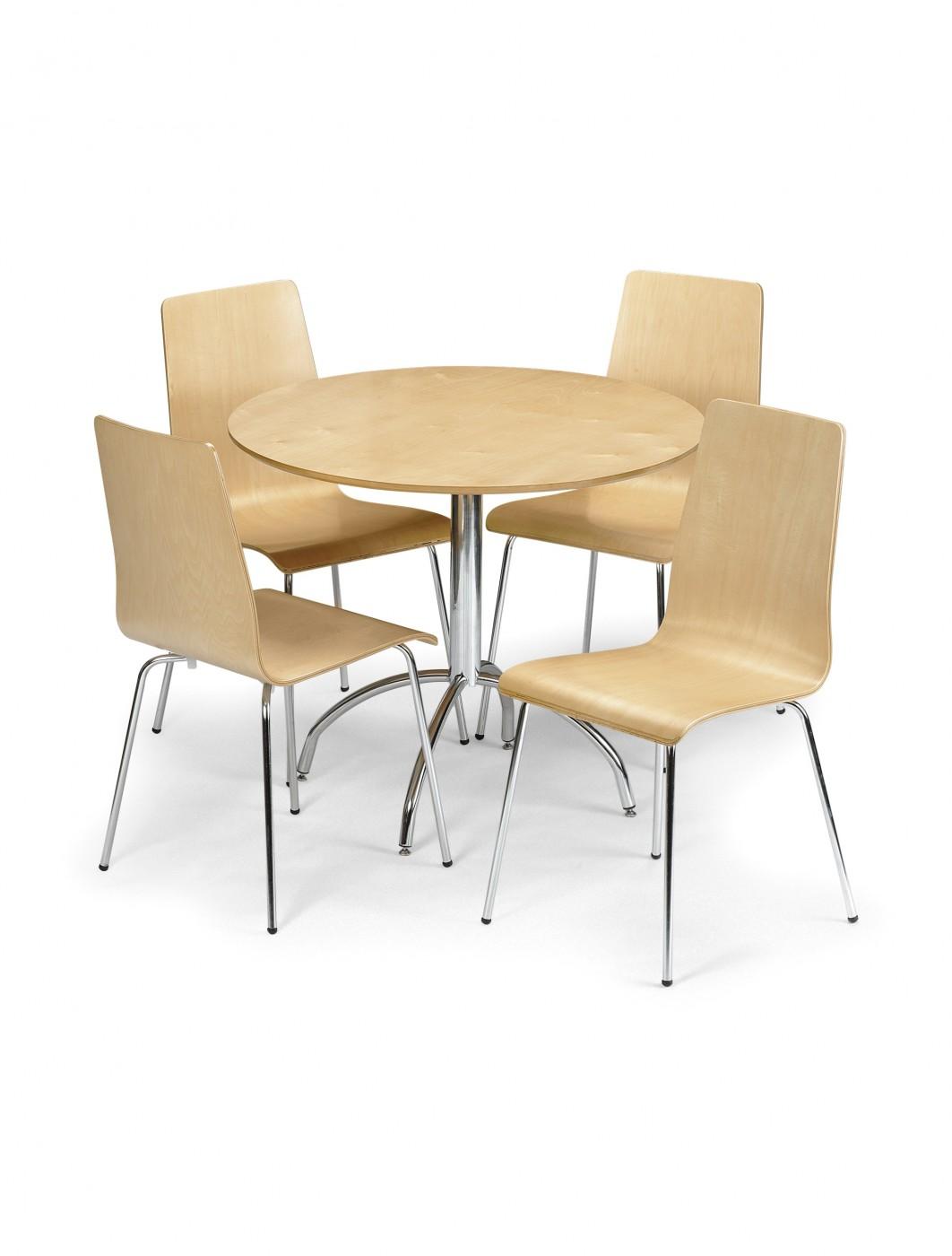 Dining Set MANSET 121 Office Furniture : 1380036195ceibty6Dmandymaplediningset from www.121officefurniture.co.uk size 1062 x 1400 jpeg 96kB