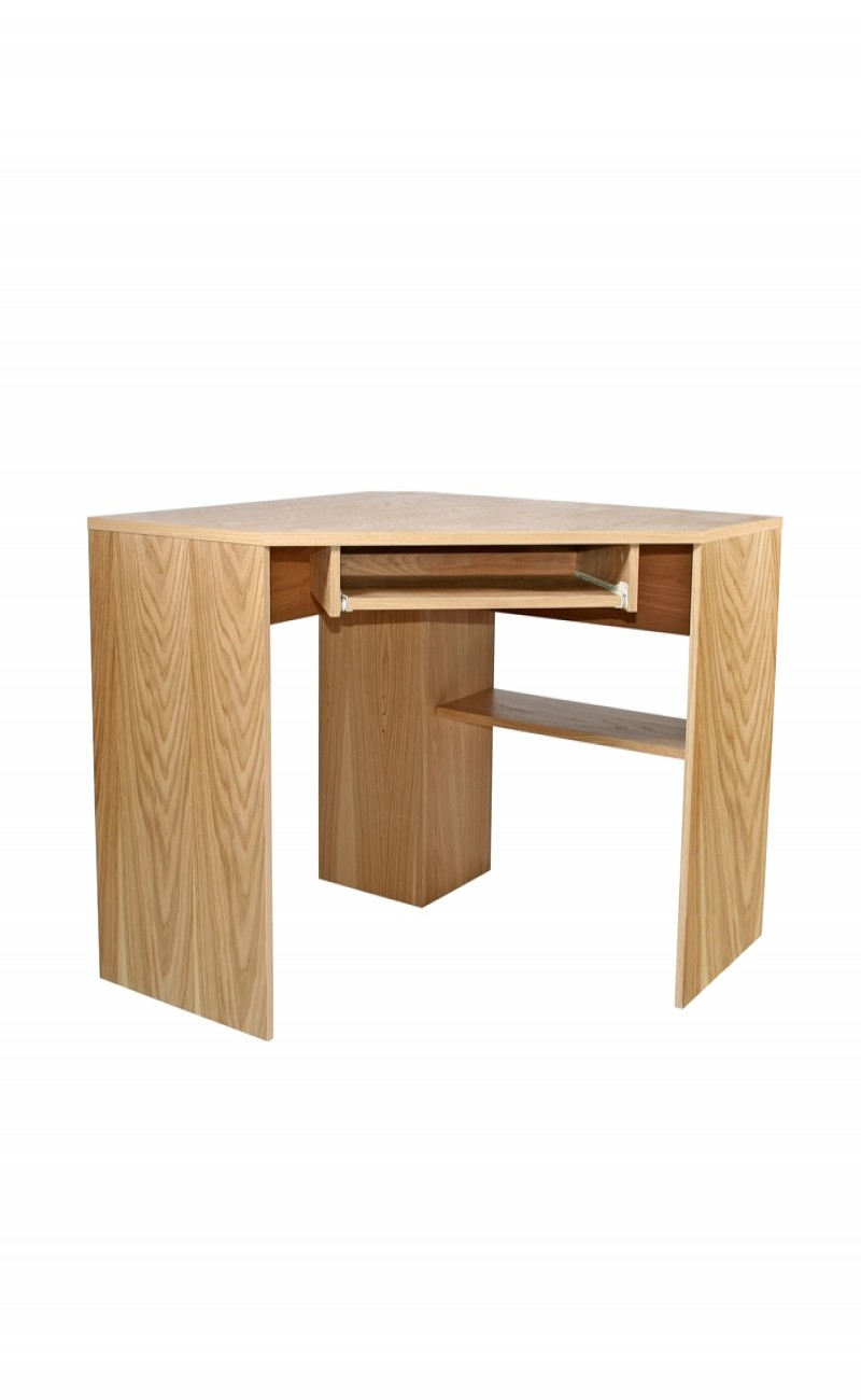 Corner desk office furniture maple corner desk icarus office furniture cabinets shelving - Corner office desk ...
