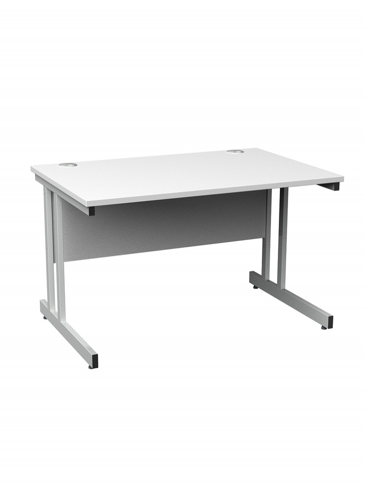 Ordinaire Cantilever Straight Desk   Momento 1000mm Wide MOM10   Enlarged View
