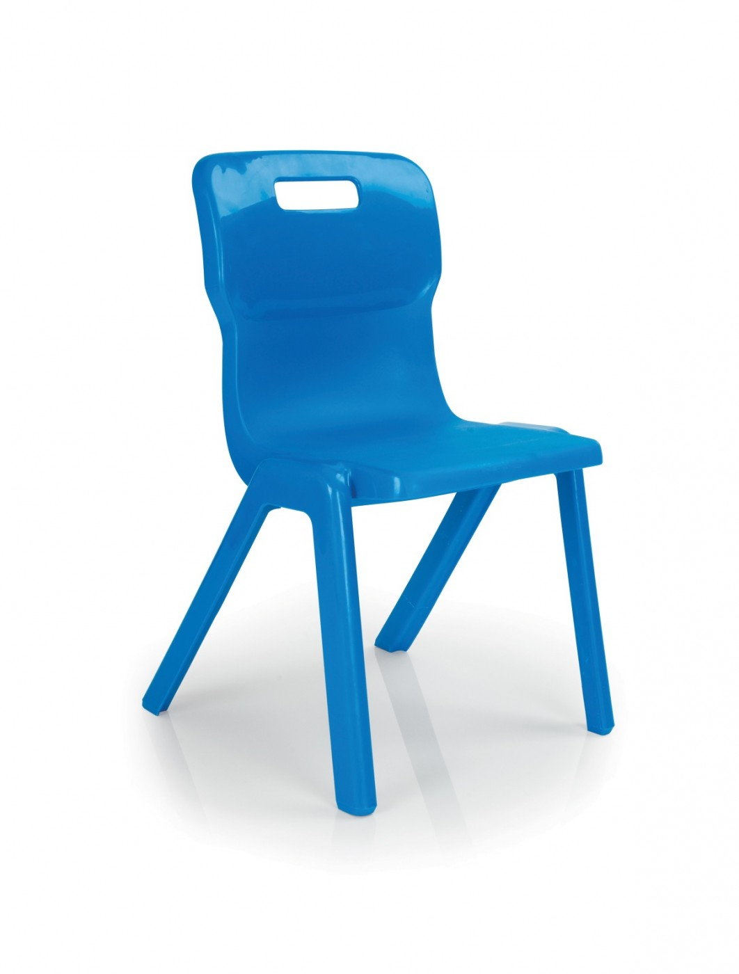 School Chair - Titan One Piece Stackable Classroom Chair T1
