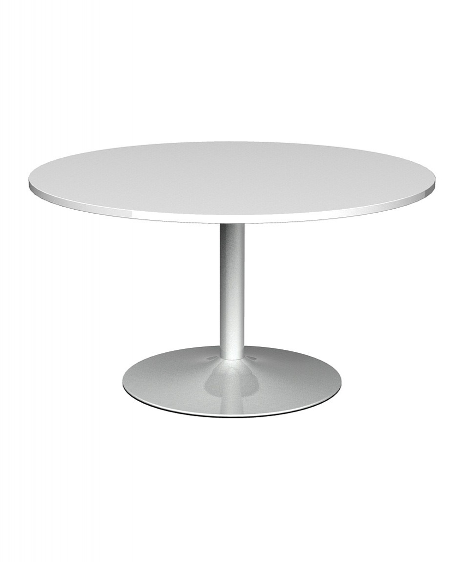 Trumpet Base Circular Boardroom Table TB10C   Enlarged View