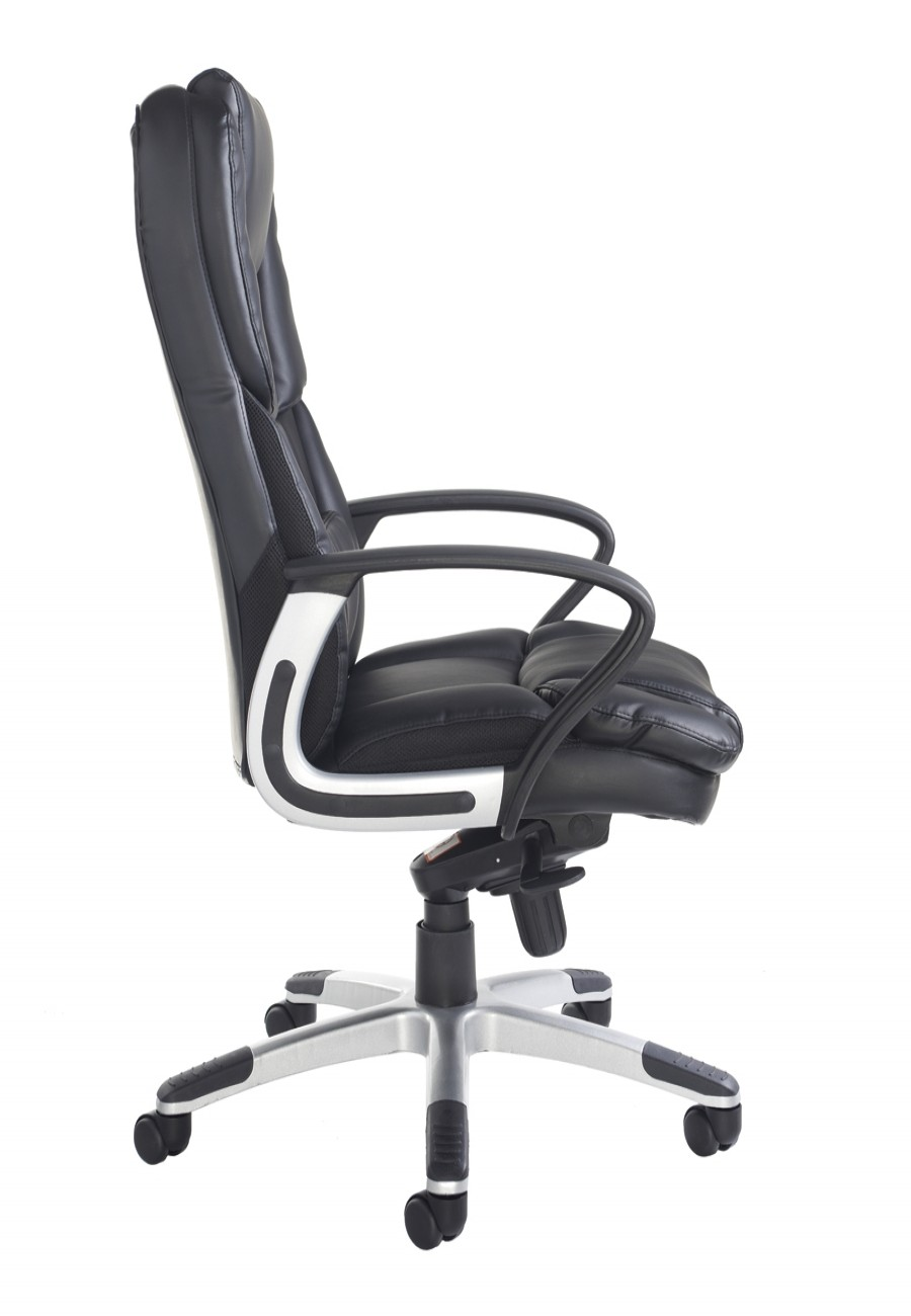 PAL300K2 Palermo Leather Faced High Back Executive Chair