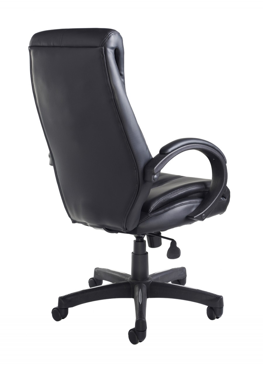 Nantes Leather Faced Managers Chair NAN300T1