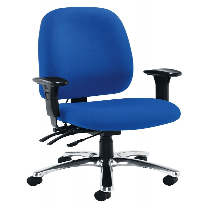 fabric office chair high back 1