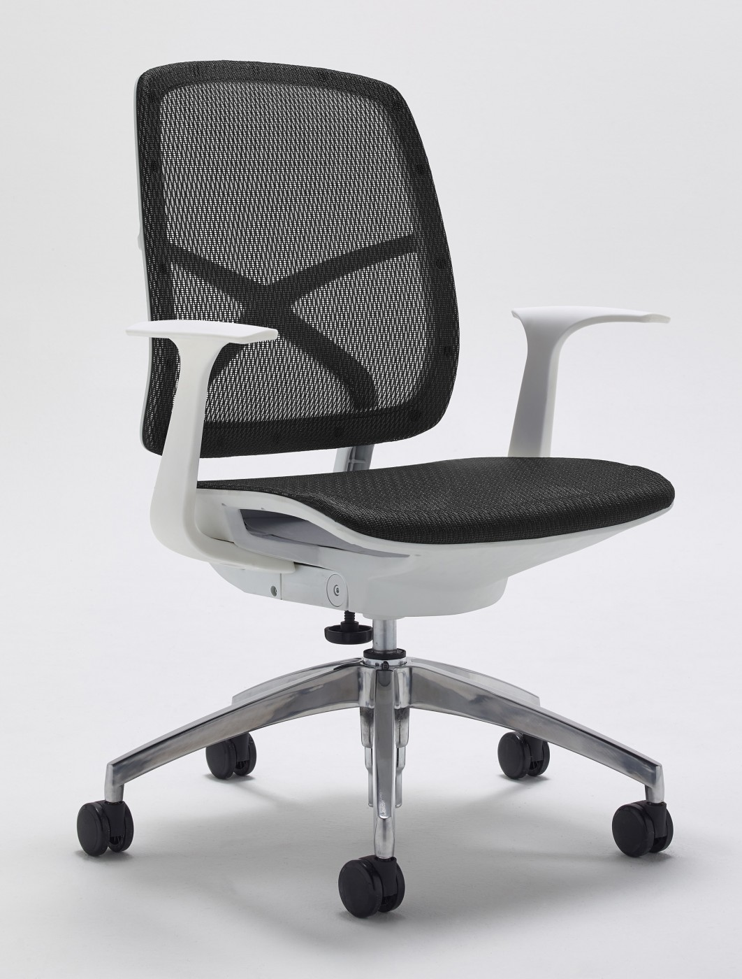and modern iesd contemporary office furniture studio sd chair baxton white walnut rathburn