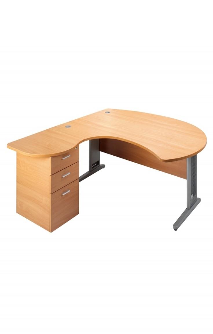 Desk With Pedestal Lmdl 121 Office Furniture
