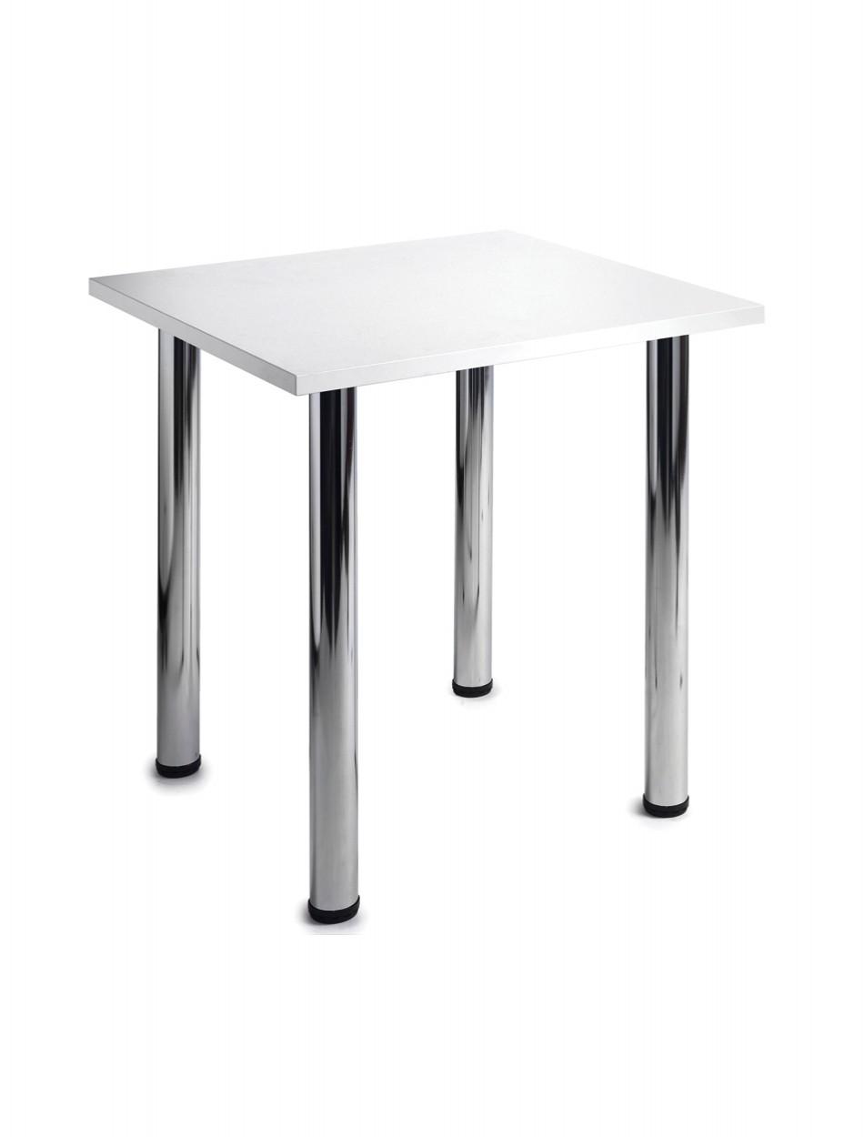 flexitable rectangular chrome leg cf7 121 office furniture