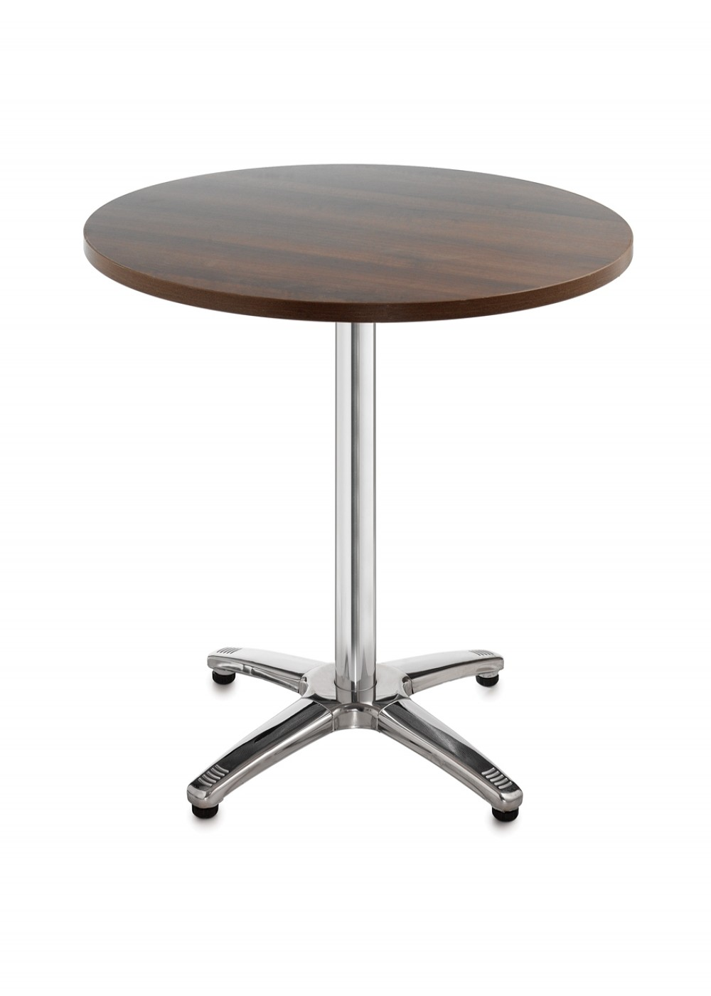 Bistro Or Cafe Round Table R6BT   Roma Aluminium 600mm Wide   Enlarged View