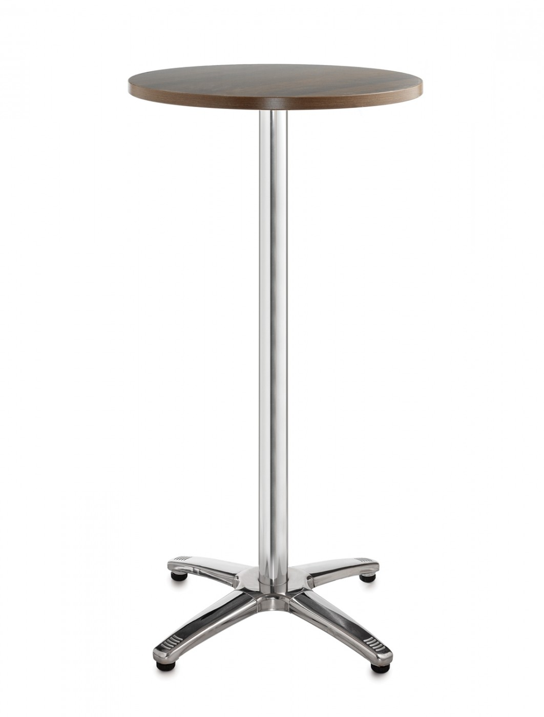 Attractive Bistro Or Cafe Tall Round Table R6PT   Roma Aluminium 600mm   Enlarged View