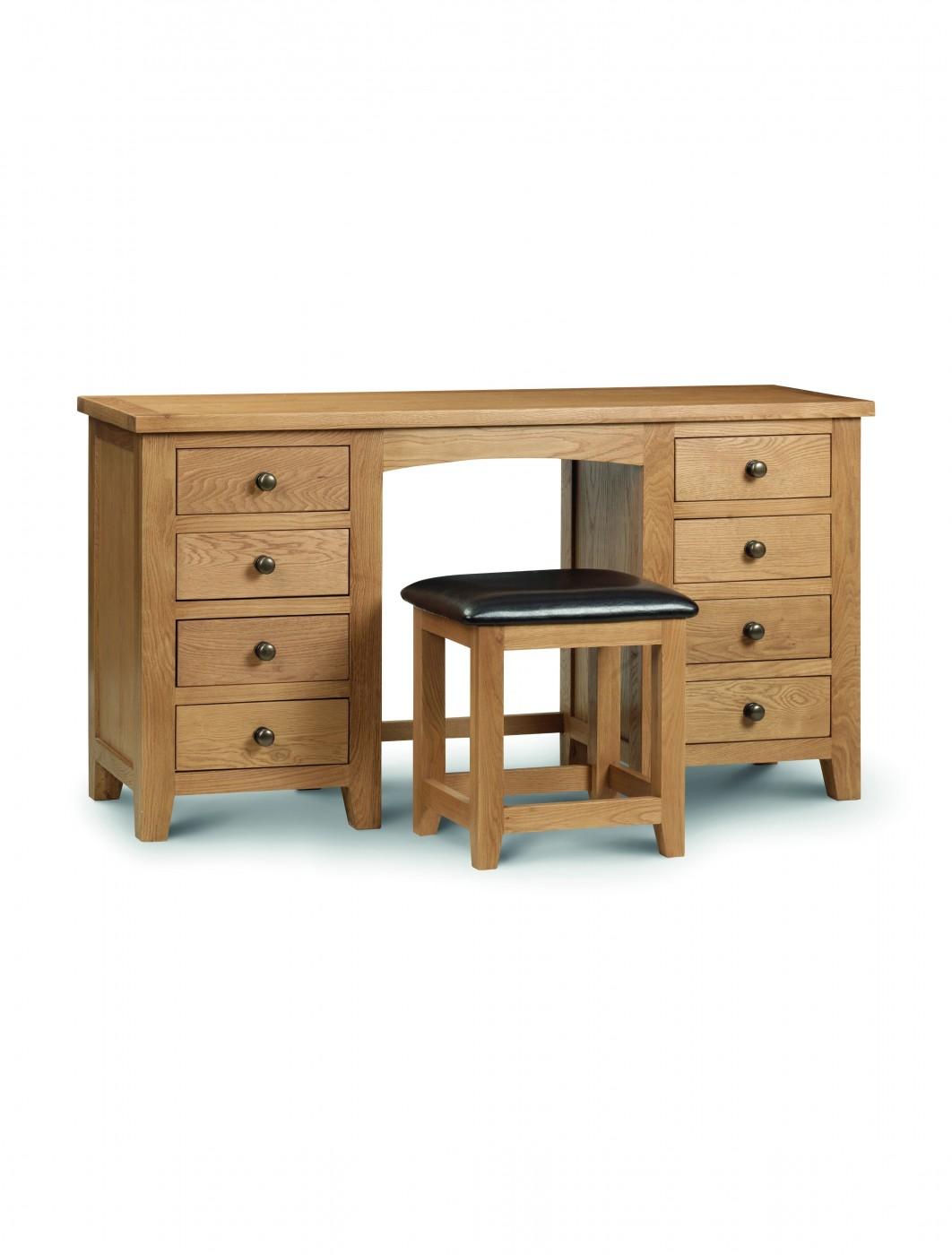 Marlborough Twin Pedestal Dressing Table Mar206 121 Office Furniture