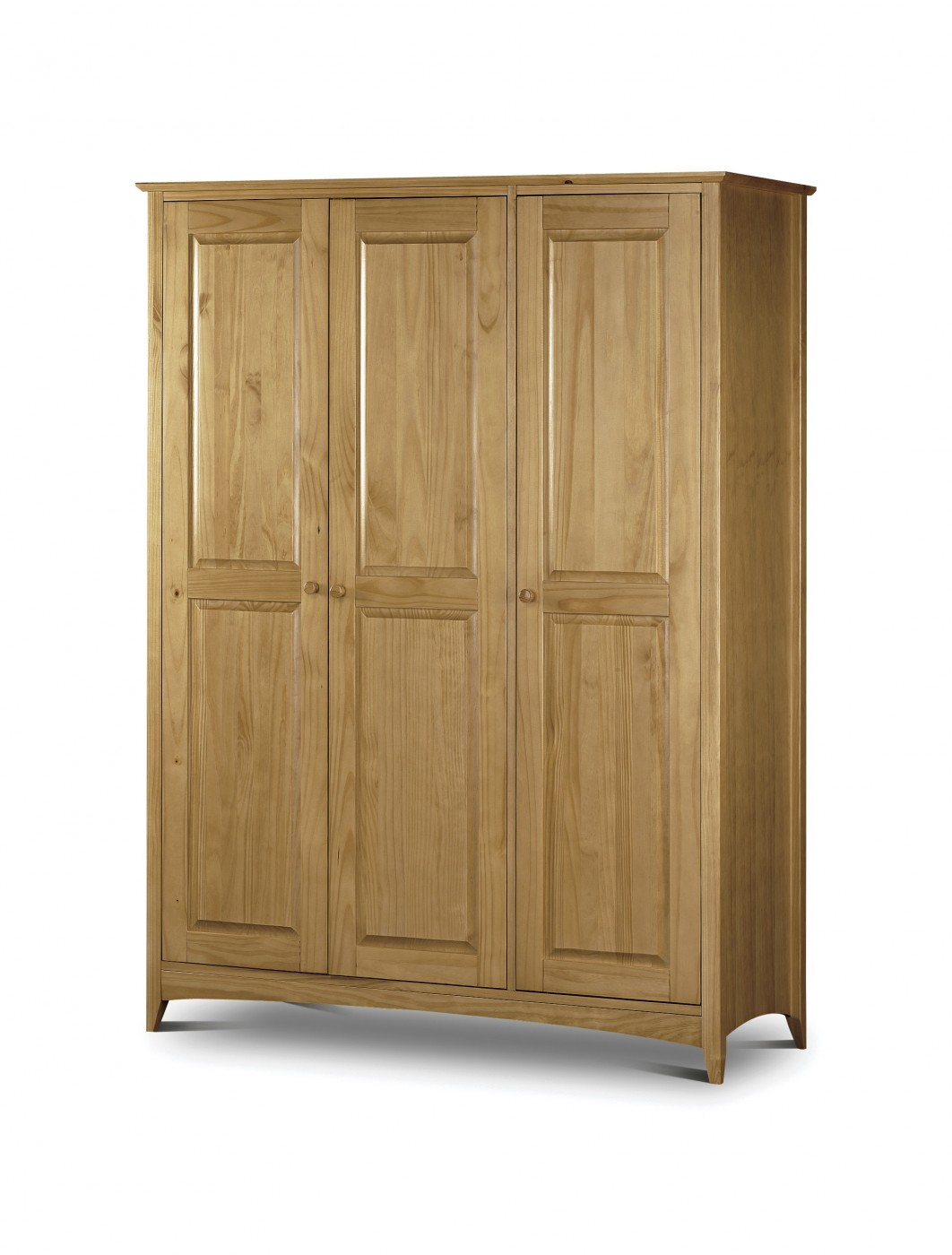 Pine wardrobe ken006 121 office furniture for Door furniture uk