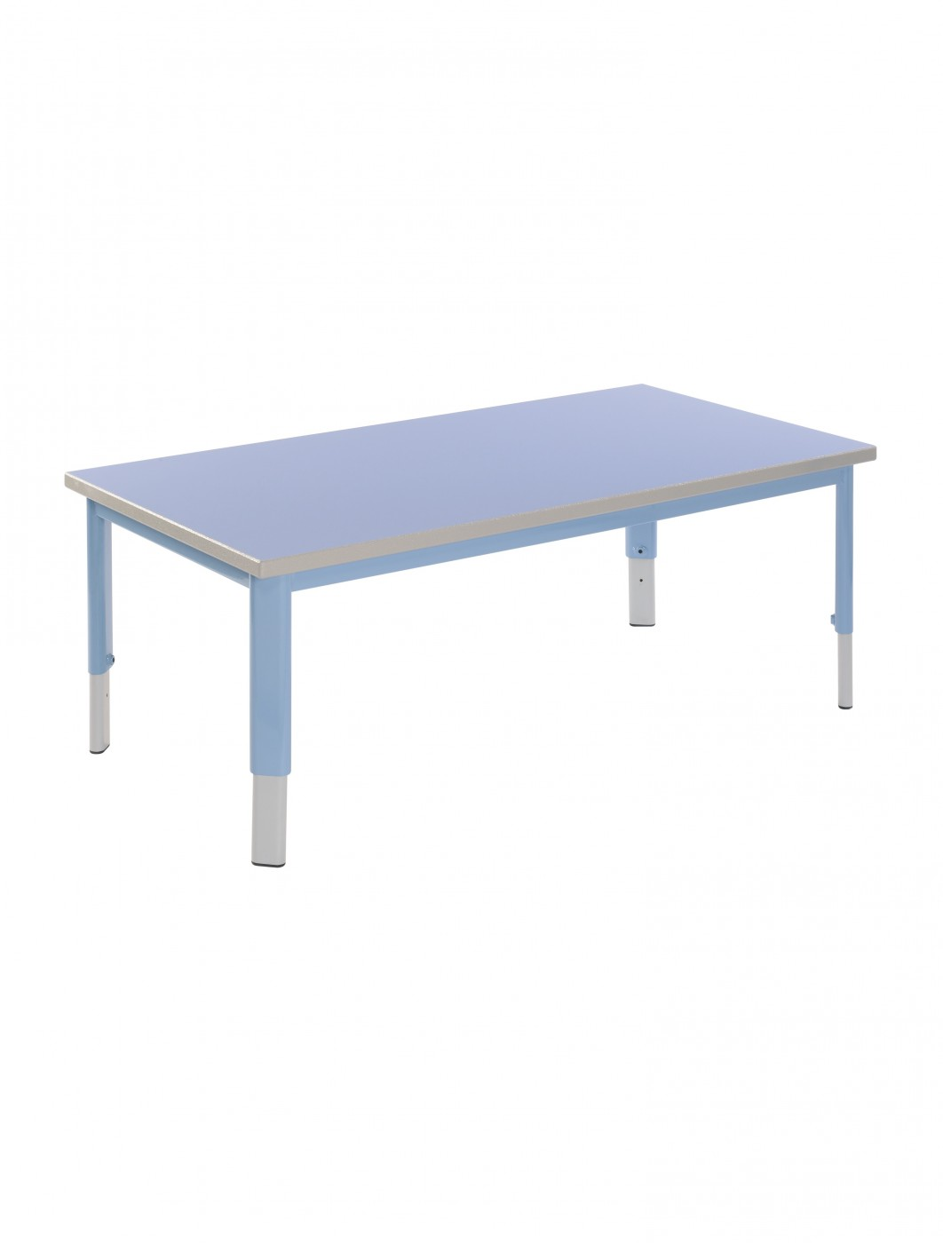 school rectangle table. ST-126-PSGY25PR Start Right Pre School Adjustable Tables - Enlarged View Rectangle Table
